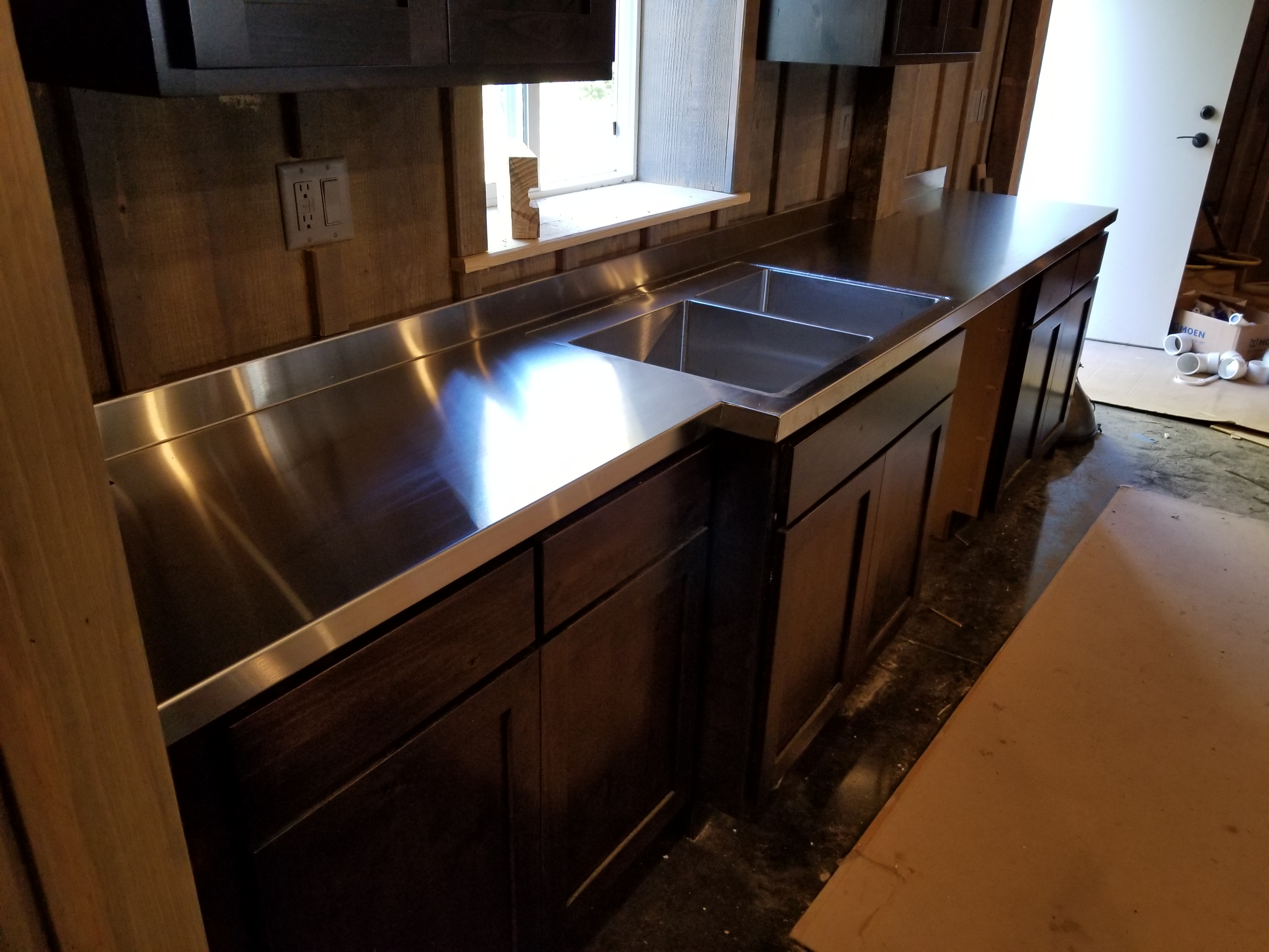 scratch sc countertops custom stainless test ga kitchen steel repair power