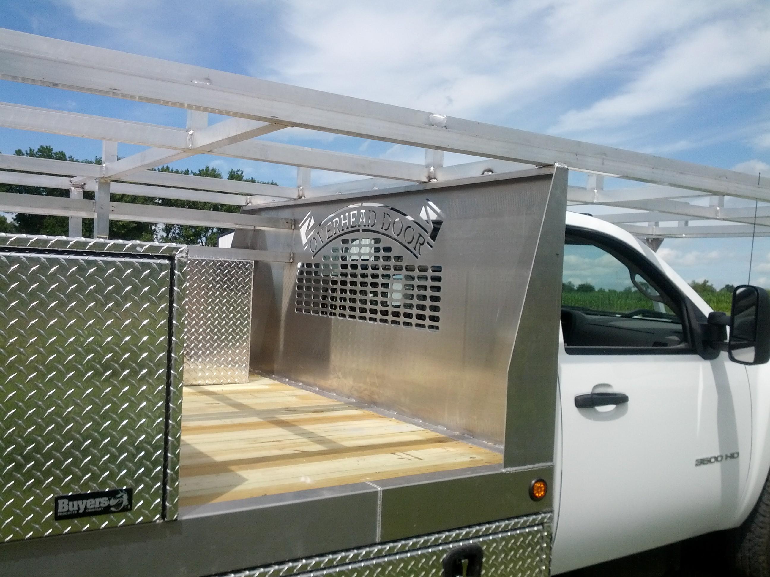 Overhead Door Truck Rack U2013 Headache Rack